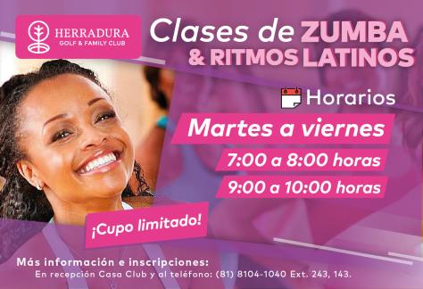 Clases de Zumba & Ritmos latinos