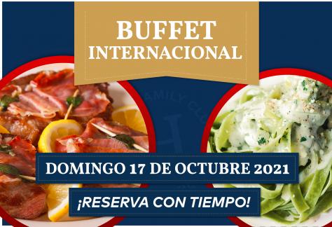 Buffet de Italiano - Domingo 17 de octubre 2021